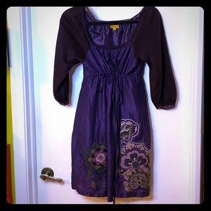 Lulumari fall empire waist dress